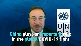 China plays an important role in the global COVID-19 fight