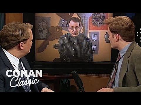 """The First Satellite TV Channel Sketch On """"Late Night With Conan O'Brien"""""""