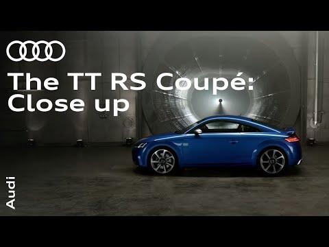 Audi TT RS Coupe: Up close.