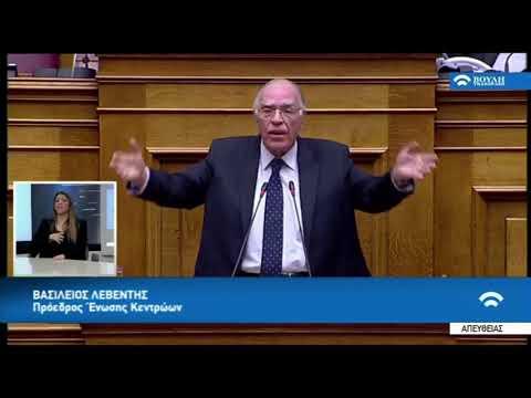 Β. Λεβέντης, για τη Novartis / Βουλή / 21-2-2018