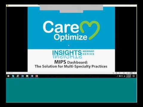 Insights17   MIPS Dashboard for Multi Specialty Practices