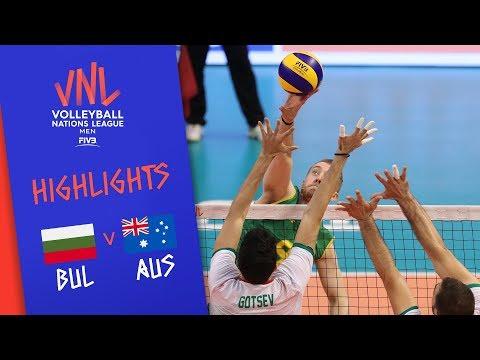 BULGARIA vs. AUSTRALIA - Highlights Men | Week 3 | Volleyball Nations League 2019