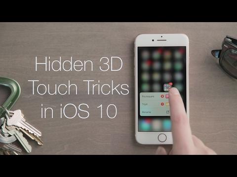 Hidden 3D Touch Tricks   iOS Quick Looks