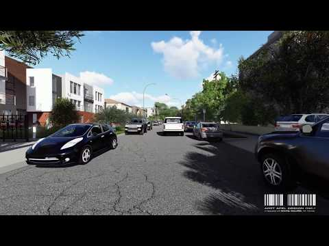 West Hollywood Public Hearing - Project Sweetzer 3D Animation by Amit Apel Design Inc.