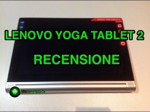 Lenovo Yoga Tablet 2 da 10 pollici - recensione in italiano