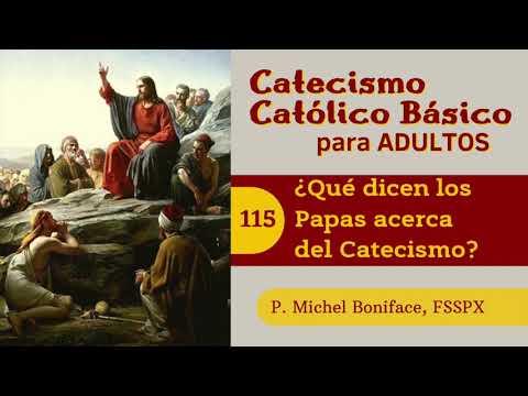 115 ¿Qué dicen los Papas acerca del Catecismo | Catecismo católico básico