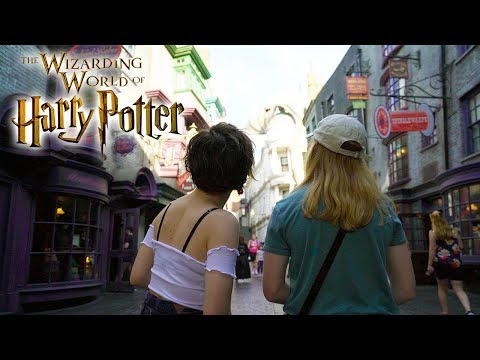 Diagon Alley Vlog at the Wizarding World of Harry Potter with Tessa Netting