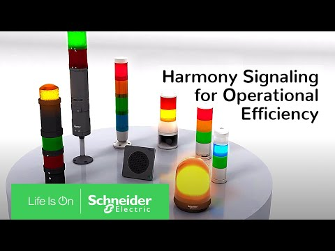 Harmony Signaling for Operational Efficiency | Schneider Electric