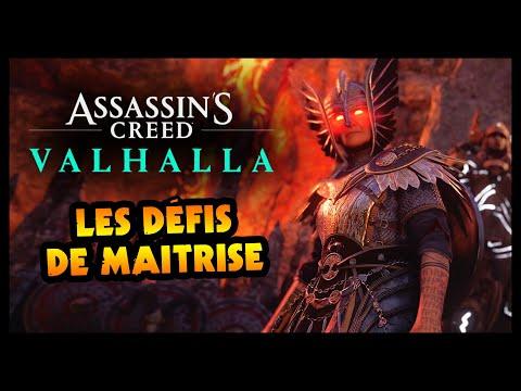 LES DÉFIS DE MAITRISE SONT LA ! (Assassin's Creed Valhalla)