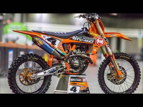 Inside Blake Bagget's Factory Rocky Mountain/WPS/ KTM 450SXF - Motocross Action Magazine