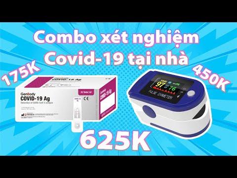 TEST NHANH COVID-19 VÀ ĐO SPO2 TẠI NHÀ CỰC ĐƠN GIẢN, GIÁ CHƯA ĐẾN 700K