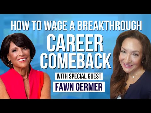 How To Wage A Breakthrough Career Comeback - Interview with Fawn Germer photo