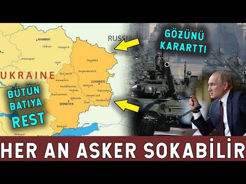 Rusya Ukrayna'ya Asker Sokabilir! SavaşSebebi Hareket!