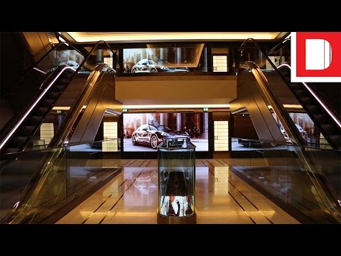 A First Look At Harrods' Six-Floor LED Installation