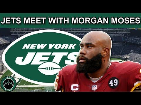 The New York Jets meet with Veteran OT Morgan Moses