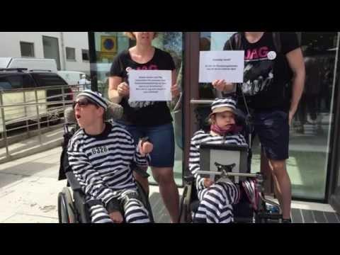 Manifestation i Visby 2016 - oskyldigt dömd