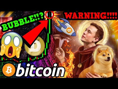 DOGECOIN MOONS!!! BITCOIN TOP SIGNAL!?!!! BUBBLE WARNING!!!  [this changes everything]