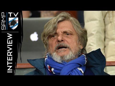 Genoa-Sampdoria, Ferrero: «Mi godo la dolce vita blucerchiata»