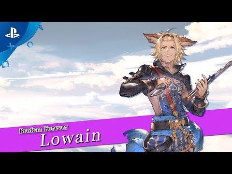 Granblue Fantasy: Versus - Lowain Character Trailer | PS4