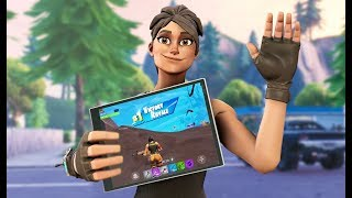 FORTNITE MOBILE PLAYER | 1200+ WINS | GRIND TO 8000 SUBS!