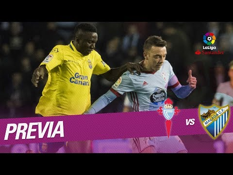 Previa RC Celta vs Málaga CF