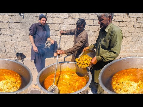 INSANE Pakistani Food VILLAGE WEDDING! – 4000 PEOPLE ULTRA RARE + BREAKFAST Street Food in Pakistan