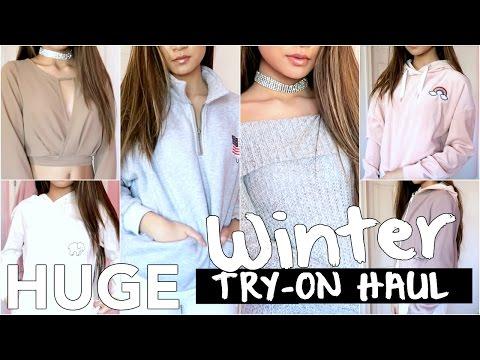 HUGE Try-On Winter Clothing Haul: Ivory Ella, FashionNova, Shein, Zara, F21 ✘ Lisa Phan