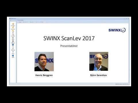 Nyheterna i SWINX ScanLev 2017, Webinar