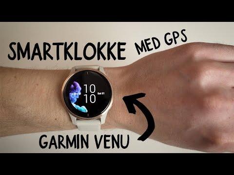 Garmin Venu - Smartklokke med iøynefallende AMOLED-skjerm
