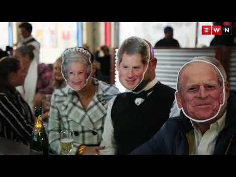 South African's celebrate Royal Wedding