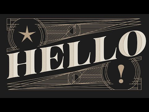 Create Art Deco Typography in Adobe Illustrator