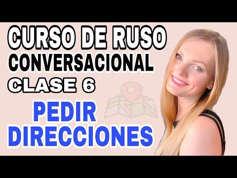 CURSO DE RUSO CONVERSACIONAL - Aprende a hablar idioma como los rusos - Clase 6- Direcciones en ruso