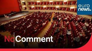 Quatre mois après, la Scala de Milan rouvre ses portes en petit comité