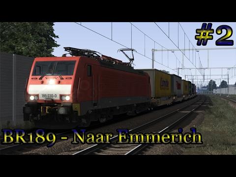 Met de BR189 naar Emmerich (Betuweroute) - Train Simulator 2017 (Livestream #2)
