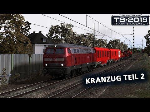 Train Simulator 2019: 3DZUG-Kranzug Teil 2