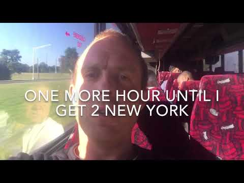 Chinese bus from Orlando to New York City