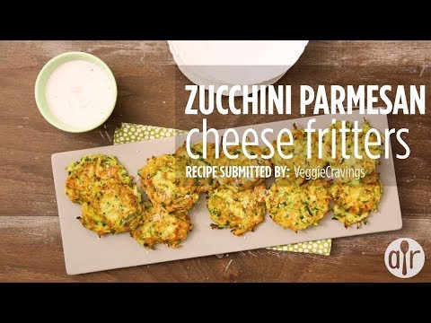 How to Make Zucchini-Parmesan Cheese Fritters | Appetizer Recipes | Allrecipes.com