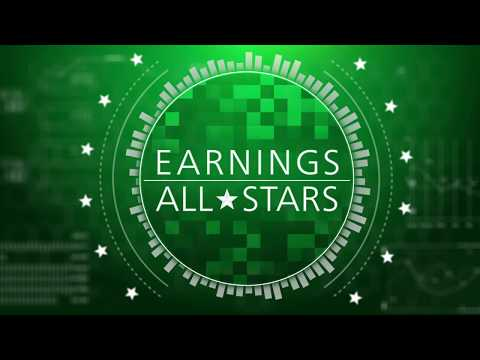 Friday's Best Earnings Charts