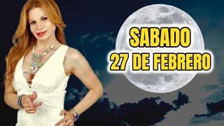 TODOS ALERTA ?Sábado 27 De Febrero Horóscopo | MHONI VIDENTE PREDICCION Para Los Signos Del Zodiaco