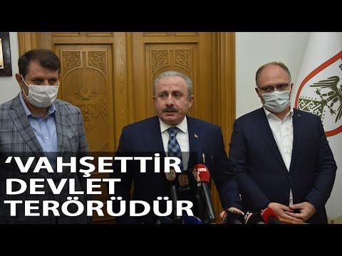 TBMM Başkanı Şentop: Müslümanlara İbadet Vakti Saldırı Vahşettir, Devlet Terörüdür