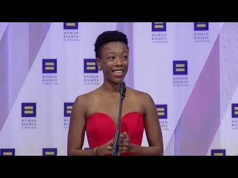 Samira Wiley Introduces Representative John Lewis at the 2016 HRC National Dinner