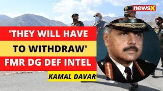 'They will have to withdraw' | Former DG Defence Intel on Modi Ladakh Visit | NewsX - NEWSXLIVE