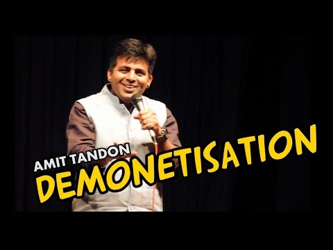 connectYoutube - Demonetization - Stand Up Comedy by Amit Tandon