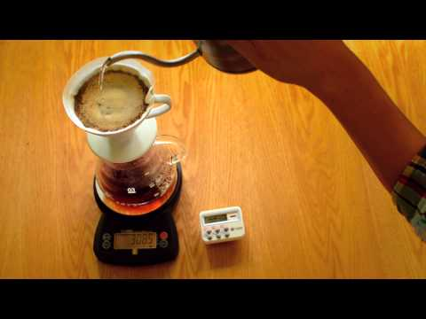 Using Scales when brewing coffee