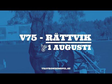 V75 Tips - Rättvik - 1 augusti 2020