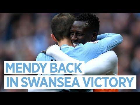 Man City 5-0 Swansea | MENDY BACK | Post match interview