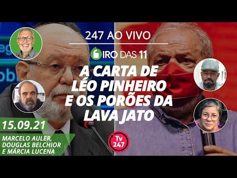 Giro das 11 - A carta de Léo Pinheiro e os porões da Lava Jato (15.09.21)