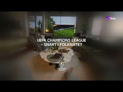 Telia | Champions league - Snart är det dags!