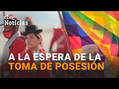 La DELEGACIÓN ESPAÑOLA llega a la toma de posesión de LUIS ARCE en BOLIVIA I RTVE