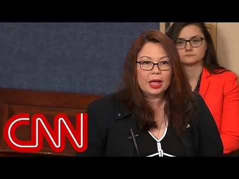 connectYoutube - Duckworth to Trump: I won't be lectured by draft dodger